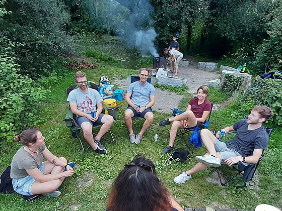 RLC Team «grillt & chillt»